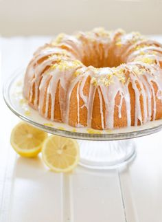 Moist Lemon Bundt Cake | Amy Kay's Kitchen