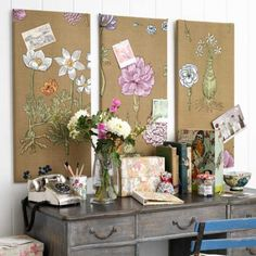 Learn how to make a noticeboard with this easy step-by-step guide from Country Homes and Interiors. For more craft ideas and decorating inspiration go to housetohome.co.uk
