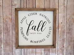 Dont you just love fall? This fall home decor is the perfect sign to display in your home decor collection. It shows all the wonderful things about fall that we all love! * Dimensions shown the board is 12x12 without frames and 13.5 by 13.5 with frames. The frames add about 1.5 inches