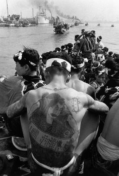 Japan, 1956 by Dennis Stock #historyoftattoos #historytattoos #t4aw