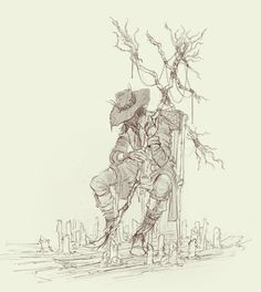 Scarecrow Sketch by TimofeyStepanov