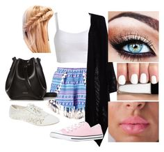 """Love it so much"" by love1d101 ❤ liked on Polyvore featuring Boohoo, Rachael Ruddick, Converse and Wet Seal"
