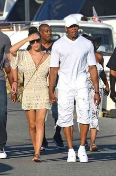 Dr. Dre and his wife, Nicole, were spotted vacaying in Saint Tropez.