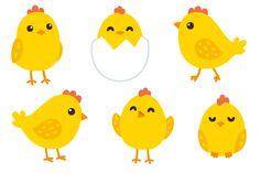 Cute baby chicken set  @creativework247