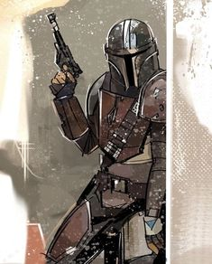 """"""" """"I like those odds."""" - The Mandalorian Artist: - Star Wars Images, Star Wars Wallpaper, Star Wars Fan Art, The Force Is Strong, Star Wars Poster, Clone Wars, Movies And Tv Shows, Fandoms, Cool Stuff"""