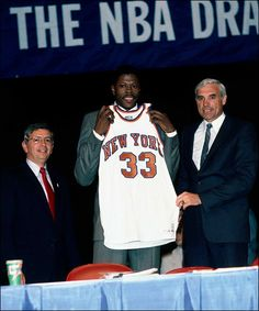 This Day In NBA History: 1985 - The New York Knicks win the first-ever NBA Draft Lottery, enabling them to select Patrick Ewing with the first pick in the NBA Draft. keepinitrealsports.tumblr.com keepinitrealsports.wordpress.com