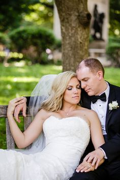 love this pose of bride and groom in park,Philadelphia