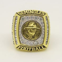Custom 2010 FSU Florida State Seminoles Gator Bowl Championship Ring