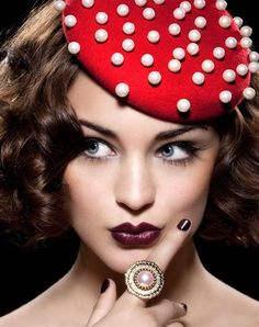 Pearls and hat, Inspiration, Carnival, Costume I Karneval, Kostüm, Fasching, Inspiration, Fliegenpilz, ladylike