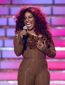 Chaka Chan...love, love, love. Through the fire, I feel for you, I'm every woman.