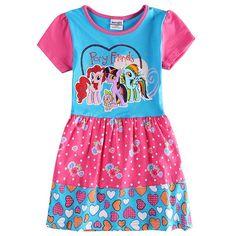 $9.67 (Buy here: https://alitems.com/g/1e8d114494ebda23ff8b16525dc3e8/?i=5&ulp=https%3A%2F%2Fwww.aliexpress.com%2Fitem%2FGirl-summer-cotton-dress-children-my-pony-cartoon-dress-clothing-for-girls-kids-100-cotton-tutu%2F32704010494.html ) Girl summer cotton dress children my pony cartoon dress clothing for girls kids 100% cotton tutu dress for baby girls H6570 for just $9.67