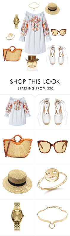 """Boho"" by julie62129 on Polyvore featuring mode, Free People, Sam Edelman, Gucci, Bing Bang, Nixon, Alexis Bittar et Burberry"