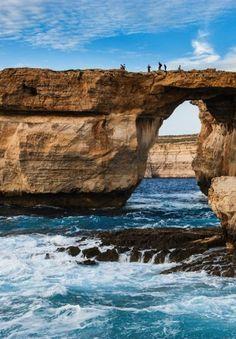 THE AZURE WINDOW -- Gozo, Malta