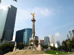 Mexico city Reforma avenue  Tour By Mexico - Google+ Mexico City, Cn Tower, Tours, Building, Google, Travel, Image, Coat Of Arms, Countries