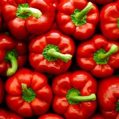 Red bell peppers are great in homemade salsas and salads