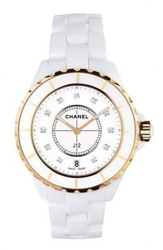CHANEL J12 33mm Pink Gold Watch