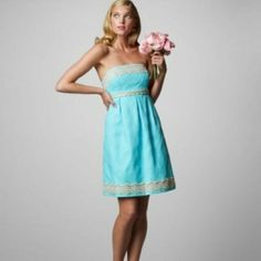 Lilly Pulitzer Strapless