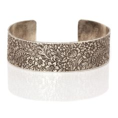 Workhorse Jewelry: eden engraved cuff