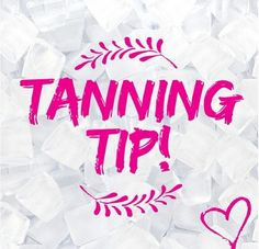 TAN TIP TUESDAY!  It's important to shower before tanning and exfoliate your entire body. Focus on feet, knees, elbows and anywhere else you have rough skin. The reason for exfoliating is to get rid of any dead skin to get the smoothest and most even colour.