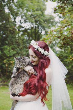 Pretty & Homemade Disney-Inspired Wedding: Megan & Grant