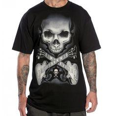 Camiseta Sullen Rock Badge Camisas Masculinas 598d11c2b2430