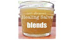 All-Natural, All-Purpose Healing Salve Blends
