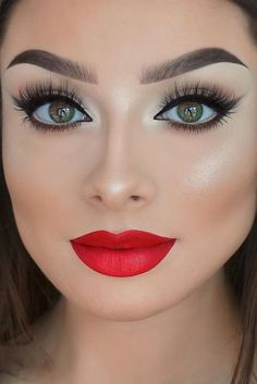 beauty summer makeup idea