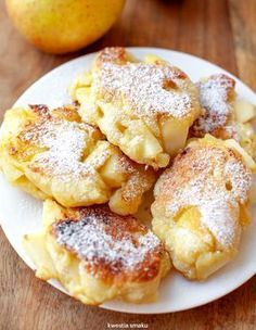 Photos and Videos Polish Desserts, Polish Recipes, Baking Recipes, Dessert Recipes, Churros, What To Cook, Love Food, Sweet Recipes, Food Porn