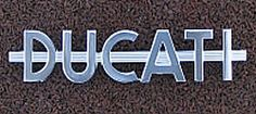 Ducati Alloy badge - Fuel Tank Badge