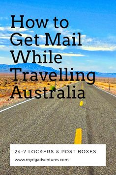 Australia is one vast country and it's fair to say that there can be great distances between major cities and Post Offices. But that doesn't mean that you have to forego receiving mail and parcels during your travels. An App will have it all sorted for you in minutes. #mail #travel #Australia #parcels #post