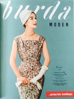 burda MODEN 7/1957