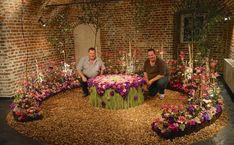 """During Fleuramour 2015 in Alden Biesen the floral designers Robin & Dirk van Nuffelen were asked to create a floral design work in the """"Dungeon"""" of the castle of Alden Biesen. Robin, Floral Design, Castle, Designers, Van, Create, Party, Flowers, Color"""