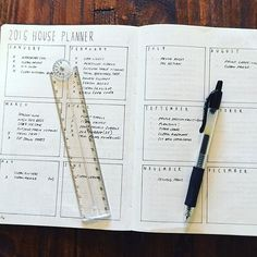 #planwithmechallenge 6.28 Unique & Useful My yearly House Planner helps me keep track of seasonal/quarterly chores, maintenance & gardening..tasks get added to my weeklies at the start of the month.