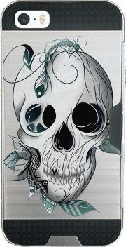 coque Iphone SE armor Skull Boho