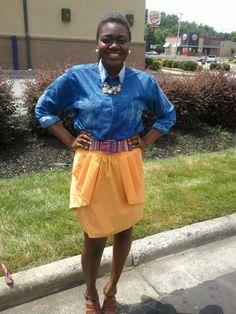 Customed skirt