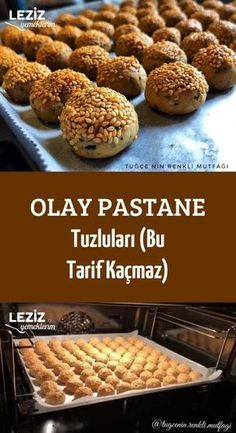 Olay Patisserie Salts (This Recipe Will Not Escape) - My Delicious Food- Olay Pastane Tuzluları (Bu Tarif Kaçmaz) – Leziz Yemeklerim Olay Patisserie Salts (This Recipe Will Not Miss) - Healthy Cookie Recipes, Healthy Cookies, Healthy Desserts, Dessert Recipes, Cheesecake Facil, Boutique Patisserie, How To Make Pastry, Mousse Au Chocolat Torte, Pasta Al Pesto