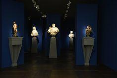 BacarelliBotticelli's stand in a deep blue version. Art Fair, Deep Blue, Belgium, Europe