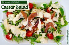LCHF Caesar Salad