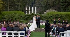 The Morton Arboretum is a perfect location for your outdoor wedding i would have the reception at one of these places too