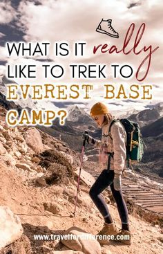 Ever wondered what it's really like to trek to Everest Base Camp? Well here's everything you need to know; the EBC trek itinerary, the altitude, the teahouse and more! Ireland Hotels, Ireland Travel, Asia Travel, Travel Usa, Travel Nepal, Backpacking Ireland, Ireland Weather, Hiking Tips, Backpacking Tips