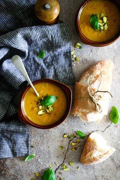 Carrot & Basil Soup