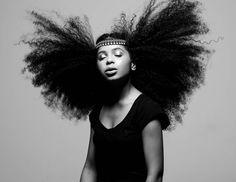 Photographer Appreciates Black Women's Natural Hair [PHOTOS]