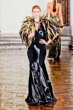 Maryna Linchuk   Ralph Lauren F/W 2012 New York