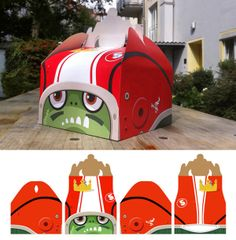 "Burger King Characters for ""Kid's Box"" by Christoph Hoppenbrock, via Behance"