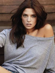 Ashley Greene's chocolate brown locks