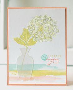 Sending Prayers Card by Betsy Veldman for Papertrey Ink (July 2013)