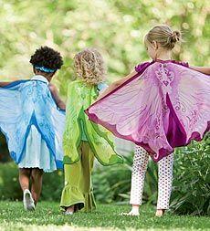 Fanciful Butterfly Wings, Girl's Butterfly Wings - Magic Cabin