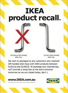 Ikea April's fool: