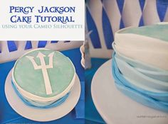 Percy Jackson Cake Tutorial - Our Kerrazy Adventure