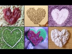 LOVE THIS!!  Will play before valentine ATC lesson and classroom Jim Dine lessons!!  100 Hearts: A Time Lapse Challenge- fun! (2:32)